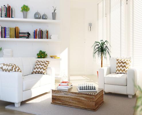 Wie dekoriere ich einen kleinen Raum mit 3 Tricks?