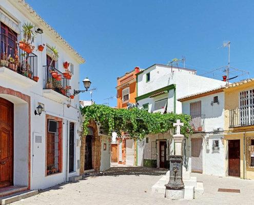 Denia Spanien
