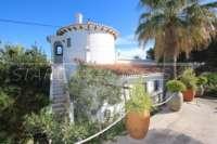 Spacieuse villa avec vue sur la mer et chambre séparée à Denia - Galeretes - Maison à Denia