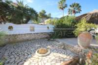 Spacieuse villa avec vue sur la mer et chambre séparée à Denia - Galeretes - Jardin à faible entretien