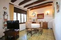 Spacieuse villa avec vue sur la mer et chambre séparée à Denia - Galeretes - salle à manger