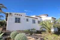 Villa spacieuse sur Monte Pego avec l'une des meilleures vues sur la mer de la Costa Blanca - Façade extérieure