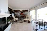 Superbe villa dans un emplacement privilégié de Denia avec vue imprenable sur la mer - Salon