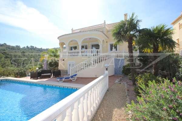 Luxuriöse 2 SZ Villa mit herrlichem Panoramablick in Orba, 03795 Orba (Spanien), Villa