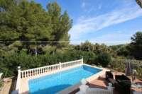 Luxuriöse 2 SZ Villa mit herrlichem Panoramablick in Orba - Offener Blick