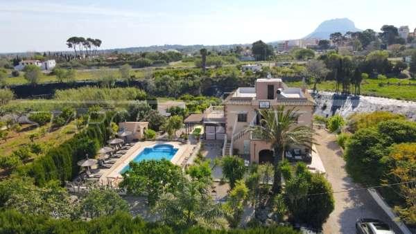 Somptueuse « Finca » entre palmiers et orangeraies à Ondara, 03760 Ondara (Espagne), Finca