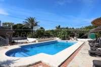 Somptueuse « Finca » entre palmiers et orangeraies à Ondara - Grande piscine