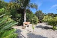 Somptueuse « Finca » entre palmiers et orangeraies à Ondara - Banc de jardin