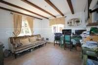 Finca de lujo soleada y privada con fantásticas vistas en Benidoleig - Oficina