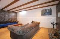 Finca de lujo soleada y privada con fantásticas vistas en Benidoleig - Cinema en casa
