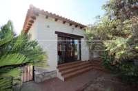 Spanische Finca mit Gästehaus in Benidoleig - Direkter Gartenzugang