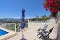 Moderne Villa mit Panoramablick in Sanet & Negrals - Gemütliche Sitzecke