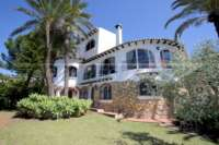 Villa mediterránea en una parcela privada con fantásticas vistas en Monte Pego - Chalet de lujo Monte Pego