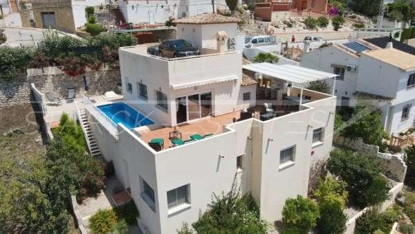 Villa moderne avec vue panoramique à Sanet & Negrals, 03769 Sanet y Negrals (Espagne), Villa