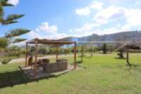 Neuwertige und moderne Finca im mediterranen Stil in Benidoleig - Sitzecke im Außenbereich