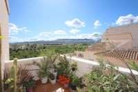 Jolie maison de ville de 4 chambres proche d'Ondara avec une vue magnifique - Terrasse sur le toit avec vue