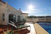 Moderne Villa auf privatem Grundstück mit Panoramablick am Monte Pego - Sonnenverwöhnt