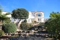 Moderne Villa auf privatem Grundstück mit Panoramablick am Monte Pego - Haus am Monte Pego