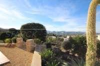 Moderne Villa auf privatem Grundstück mit Panoramablick am Monte Pego - Mediterraner Garten