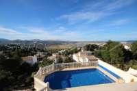 Moderne Villa auf privatem Grundstück mit Panoramablick am Monte Pego - Monte Pego