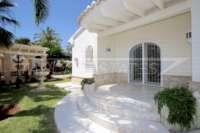 Private Luxusvilla in bester Lage von Denia mit atemberaubendem Panoramablick - Terrasse