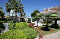 Private Luxusvilla in bester Lage von Denia mit atemberaubendem Panoramablick - Garten