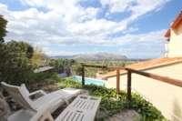 Neuwertige Villa in Pedreguer mit diversen Extras und herrlichem Panoramablick - Terrasse