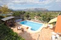Neuwertige Villa in Pedreguer mit diversen Extras und herrlichem Panoramablick - Bergblick