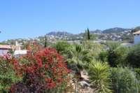 Jolie villa de 3 chambres sur un terrain plat avec une belle exposition au sud sur Monte Pego - Vues ouvertes