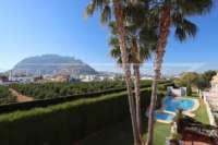 Adosado de 3 dormitorios céntrico con aire acondicionado y piscina comunitaria en Els Poblets - Vista a la montaña