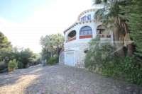 Imposante Villa mit Meerblick und separatem Gästezimmer in Denia - Galeretes - Villa in Denia
