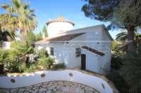 Imposante Villa mit Meerblick und separatem Gästezimmer in Denia - Galeretes - Immobilie in Denia
