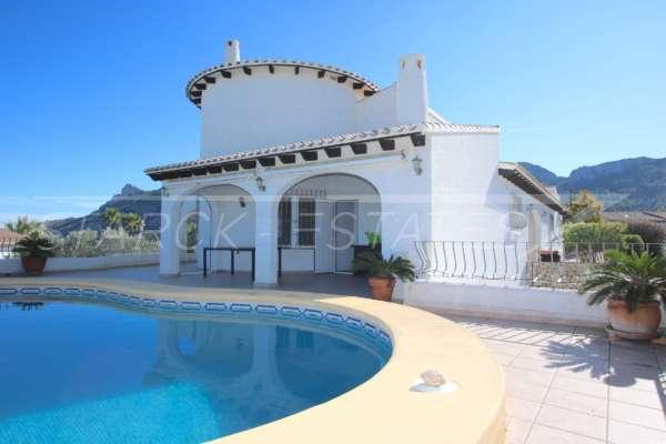 Helle und luftige Villa am Monte Pego mit einem der besten Meerblicke an der Costa Blanca!, 03789 Dénia (Spanien), Villa