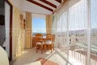 Chalet de bajo mantenimiento con apartamento de invitados y vistas al mar en Orba - Terraza acristalada