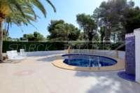Precioso oasis mediterráneo en Javea Balcón al Mar - Terraza de la piscina