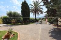 Villa de style méditerranéen avec piscine à Beniarbeig - Jardin peu d'entretien