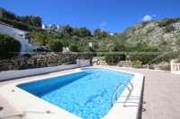 Casa adosada de esquina en la mejor posición panorámica en Monte Pedreguer - Ubicación privada