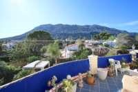 Großzügige Villa mit Wohlfühlcharakter und herrlichem Blick auf den Montgo in Denia - Ausblick auf den Montgo