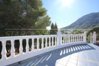 Großzügige Villa mit Wohlfühlcharakter und herrlichem Blick auf den Montgo in Denia - Dachterrase