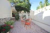 Großzügige Villa mit Wohlfühlcharakter und herrlichem Blick auf den Montgo in Denia - Gemütliche Sitzecke