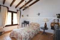 Villa de lujo mediterránea con vistas al mar en Monte Pego - Dormitorio