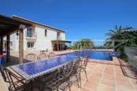 Finca de lujo soleada y privada con fantásticas vistas en Benidoleig - Casa de campo Benidoleig