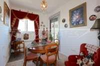Neuwertiges Duplex Penthouse Apartment nur wenige Minuten zu Fuß von El Arenal in Javea - Esszimmer