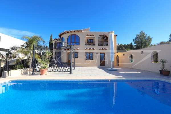 Großzügiger Wohnkomfort mit traumhaftem Meerblick am Monte Pego, 03769 El Ràfol d'Almúnia (Spanien), Haus