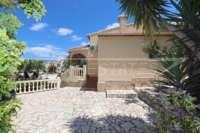 Villa de primera clase en Monte Solana en Pedreguer - Terraza