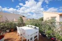 Atractiva casa adosada de 4 dormitorios con unas vistas maravillosas cerca de Ondara - Azotea