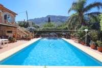Großzügige Villa in ruhiger Lage mit herrlichem Blick nur 1 km von Denia Innenstadt - Blick auf den Montgo