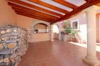 Top gepflegte Villa im Naturparadies Vall de Laguar - Parkplatz