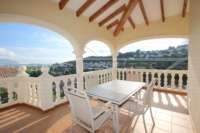 Top villa à Orba de 3 chambres bien entretenue avec une vue imprenable - Terrasse avec vue panoramique