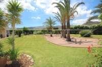 Paradiesisches Finca Anwesen in herrlicher Privatlage mit Blick in die Bergkette in Pedreguer - Palmen
